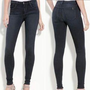 fbdf6d8ba7 Joe's Jeans Piper Skinny Faded Black Pants 0 14